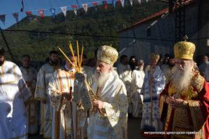 Ο Πατριάρχης Σερβίας στο Μαυροβούνιο -Πατριωτικό κάλεσμα