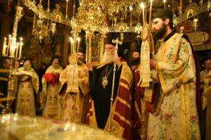Λαμπρή πανήγυρις για τον Αγιο Κοσμά τον Αιτωλό στην Ιερά Μονή Φιλοθέου (ΦΩΤΟ)