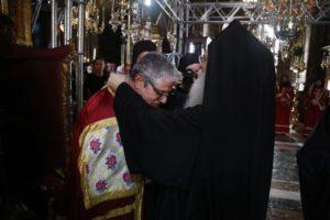 Η Μονή Βατοπαιδίου εορτάζει την Τιμία Ζώνη της Παναγίας – Υποδοχή μητροπολίτη