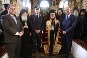 Παρουσία του υφυπουργού Εσωτερικών η λαμπρή Πανήγυρη  για την Αγία Ζώνη στο Βατοπαίδι