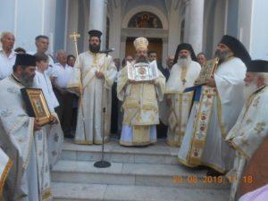 Η Χίος φιλοξένησε Λείψανο του Αγίου Ιωάννου του Προδρόμου από την Κύπρο (ΦΩΤΟ)