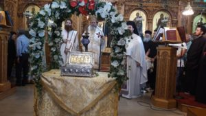 Επίσκοπος Κερνίτσης «Αυτοί είναι οι πραγματικοί θησαυροί που κοσμούν την Ορθοδοξίας»
