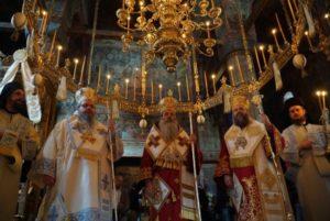 Αρχιερατικό Συλλείτουργο στην Ιερά Μονή Αγίου Βησσαρίωνος Δουσίκου (ΦΩΤΟ)