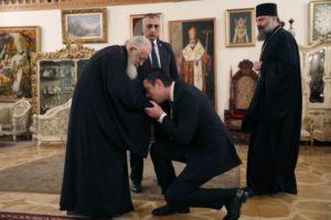 Τον νέο πρωθυπουργό της Γεωργίας υποδέχθηκε ο Πατριάρχης Ηλίας (ΦΩΤΟ)