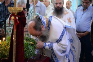 Η εορτή της Υψώσεως του Τιμίου Σταυρού στην Ι.Μ. Πατρών (ΦΩΤΟ)