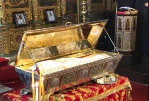 Το Λείψανο της Αγίας Ευφημίας στον Πατριαρχικό Ναό στο Φανάρι