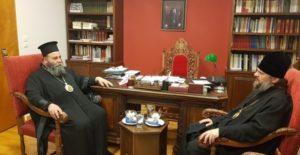 Ιωαννίνων Μάξιμος σε Ρώσο Ιεράρχη: «Δεν εκτιμήθηκε η στάση του Οικ. Πατριαρχείου» (ΦΩΤΟ)