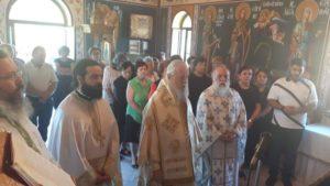 Εορτή Αγίας Σοφίας και των θυγατέρων Πίστεως, Ελπίδος και Αγάπης στην Ι.Μ. Καρυστίας