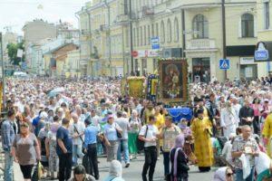Πανουκρανική Λιτανεία με 80.000 πιστούς (ΦΩΤΟ)