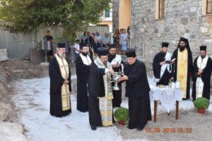 Τοποθέτηση θεμέλιου λίθου σε Πνευματικό Κέντρο από τον Λευκάδος Θεόφιλο (ΦΩΤΟ)
