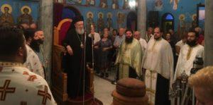 Πλήθος πιστών στην εορτή της Αγίας Σοφίας στη Μητρόπολη Χαλκίδος (ΦΩΤΟ)