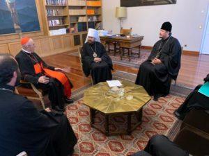 Συνάντηση του Βολοκολάμσκ Ιλαρίωνα με τον Ρωμαιοκαθολικό Αρχιεπίσκοπο Μαδρίτης