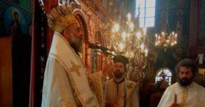 Θεία Λειτουργία στον πανηγυρίζοντα Ιερό Ναό Αγίας Σοφίας Καρδίτσης (ΦΩΤΟ)