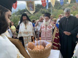 Αρχιερατικός Εσπερινός στον Ιερό Ναό Αγίου Ευσταθίου Σελακάνου (ΦΩΤΟ)