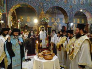 Πολυαρχιερατικός Εσπερινός Αγίου Ευσταθίου στη Νέα Ιωνία (ΦΩΤΟ)