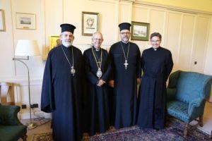 Συνάντηση του Θυατείρων Νικήτα με τον Αρχιεπίσκοπο Καντουαρίας (ΦΩΤΟ)