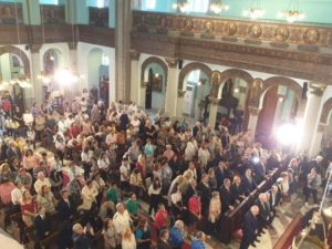 Ιστορικά θυρανοίξια του Ι.Ν. Αγίων Κωνσταντίνου και Ελένης στο Κάιρο (ΦΩΤΟ)