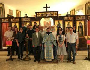 Η Γέννηση της Θεοτόκου στην Δαμασκό
