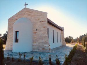 Ένα εκκλησάκι για τον αδικοχαμένο φίλαθλο του ΠΑΟΚ