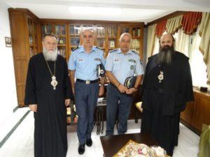 Ο Αστυνομικός Διευθυντής Πελοποννήσου στον Μητροπολίτη Κορίνθου
