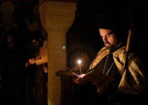 Αγρυπνία στην Ι. Μονή Κοιμήσεως της Θεοτόκου στις Γαλλικές Άλπεις (ΦΩΤΟ)