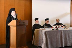 Ο Οικουμενικός Πατριάρχης κήρυξε την έναρξη Διεθνούς Συνεδρίου (ΦΩΤΟ)