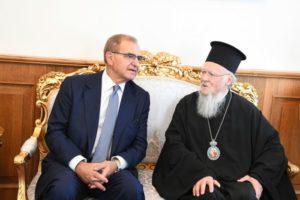 Ο υφυπουργός Εξωτερικών στο Οικουμενικό Πατριαρχείο (ΦΩΤΟ)