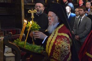 Πολυαρχιερατικό Συλλείτουργο υπό του Πατριάρχη στο Φανάρι για την Ύψωση του Τιμίου Σταυρού