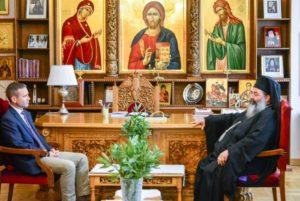 Στον Λαγκαδά Ιωάννη ο Πρόεξενος των ΗΠΑ στη Θεσσαλονίκη