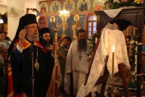 Κύπρου Χρυσόστομος: «Το τέλος του Αγίου Μάμα ήταν κι έπρεπε να είναι μαρτυρικό»
