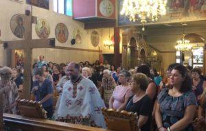 Υψωση του Τιμίου Σταυρού στον Αγιο Σπυρίδωνα Πύργου (ΦΩΤΟ)
