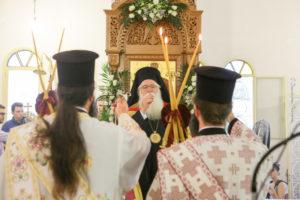 Λαμία: Εκατοντάδες πιστοί τίμησαν την Αγία Σοφία και τις τρεις της Θυγατέρες