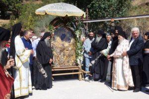 Η Θαυματουργός Εικόνα της Παναγίας Γοργοϋπηκόου στη Μονή Θεοσκεπάστου