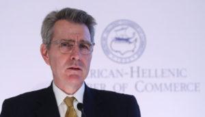 Τι ζητήματα έθεσε ο αμερικανός Πρέσβης Τζέφρυ Πάιατ στην υπουργού Πολιτισμού Λ. Μενδώνη