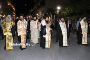 ΚΑΛΑΜΠΑΚΑ : Χιλιάδες λαού στη Λιτανεία για τον Πολιούχο  Αγιο Βησσαρίωνα