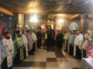 Ο Λαρίσης Ιερώνυμος στον Πανηγυρικό Εσπερινό στον Ιερό Ναό της Αγίας Σοφίας