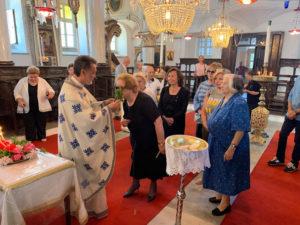 Η Ρωμαίικη Κοινότητα της Τενέδου γιόρτασε  την Ύψωση του Τιμίου Σταυρού