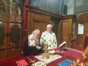 Στον Καθεδρικό Ναό του Αρχαγγέλου Μιχαήλ ο Σερβίας Ειρηναίος (ΦΩΤΟ)