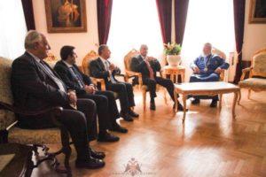 Ο Πρόεδρος της Ελληνικής Βουλής στον Κύπρου Χρυσόστομο (ΦΩΤΟ)