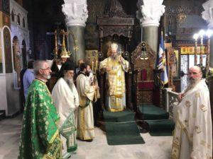 Η εορτή της Υψωσις του Τιμίου Σταυρού στη Λάρισα (ΦΩΤΟ)