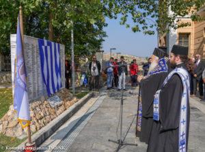 Βέροια: Αποκαλυπτήρια μνημείου για τους πεσόντες του Β΄ Παγκοσμίου Πολέμου