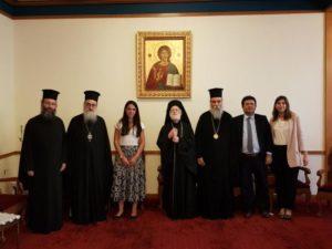Με την υφυπουργό Εργασίας συναντήθηκε αντιπροσωπεία της Εκκλησίας Κρήτης