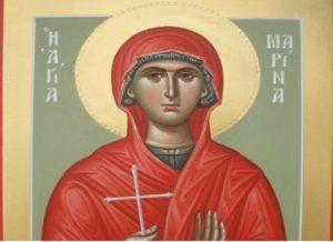 Χαλκίδα: Υποδοχή της Τιμίας Κάρας της Αγίας Μαρίνης στην Ενορία Πάλιουρα