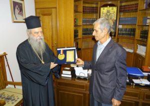 Δώρισε το χρυσό μετάλλιο του στον Σπάρτης Ευστάθιο