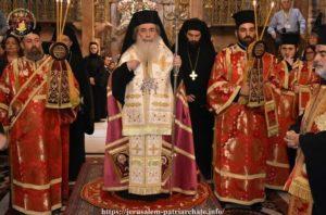 Πατριάρχης Ιεροσολύμων για το  «ΟΧΙ»: Η πατρίδα, η αυτοθυσία και κυρίως η πίστη πάντα ψηλά