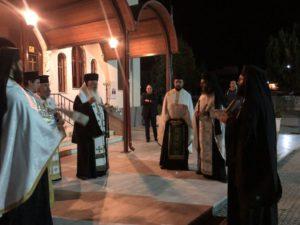 ΛΙΒΑΔΕΙΑ: Υποδοχή των Ιερών Λειψάνων των Αγίων Αναργύρων Κοσμά και Δαμιανού