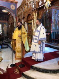 Στο Μοσχάτο ιερούργησε ο Λευκάδος Θεοφίλου