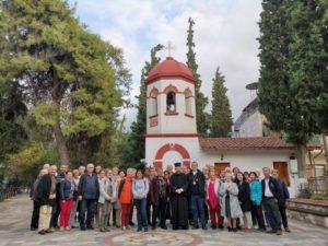 Γάλλοι προσκυνητές στη Μητρόπολη Νεαπόλεως