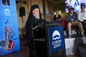Σε φόρουμ στην Πράγα ομίλησε ο Οικουμενικός Πατριάρχης