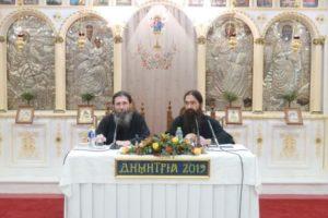 Στον Αγιο Δημήτριο Αττικής ομίλησε ο Αρχιμανδρίτης Βαρνάβας Γιάγκου